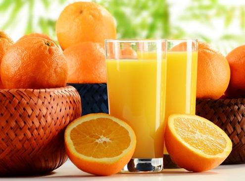Spremuta d'arancio in ufficio