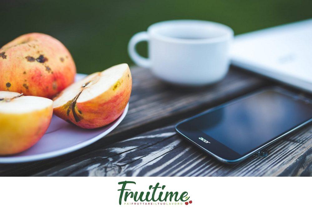 Pausa salutare da lavoro - blog Fruitime